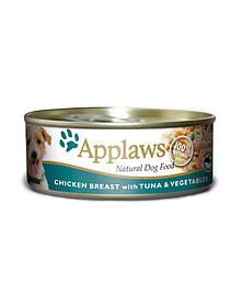 APPLAWS с курицей, тунцом и рисом 156 g