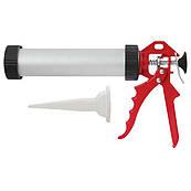 Пистолет для выдавливания силикона INTERTOOL HT-0025