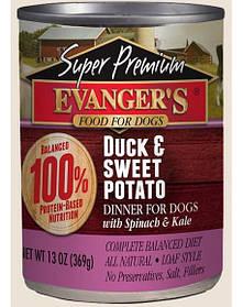 EVANGER'S Gold Line качка и сладкий картофель 369 g
