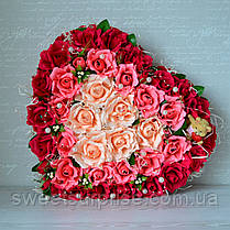 """Сердце из конфет для влюбленных """"Для тебя"""", фото 3"""