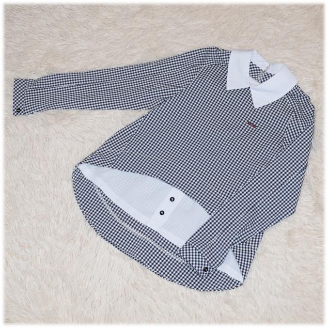 Блуза школьная с длинным рукавом белая для девочки  140 152