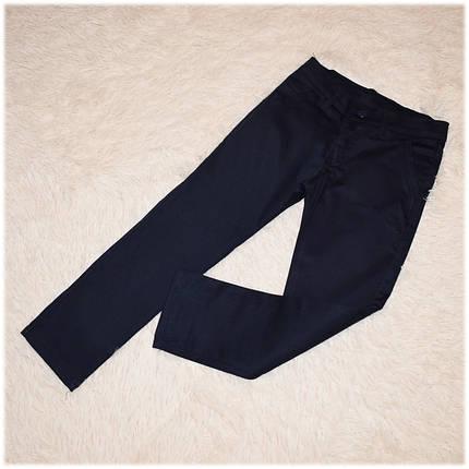 Брюки школьные Armani для мальчика синие размеры 116 , фото 2