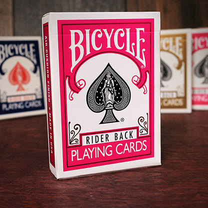 Карты игральные | Bicycle Fuchsia Playing Cards by USPCC