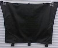 Зимний защитный чехол для капота  RENAULT TRAFIC с 2001- / цвет: черный
