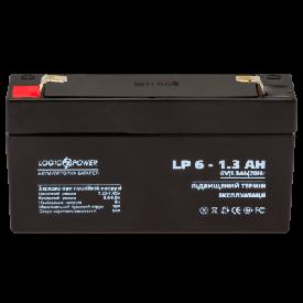 Аккумуляторная батарея LogicPower AGM LP 6-1.3 AH
