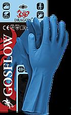 Перчатки GOSFLOW N защитные резиновые флокированные