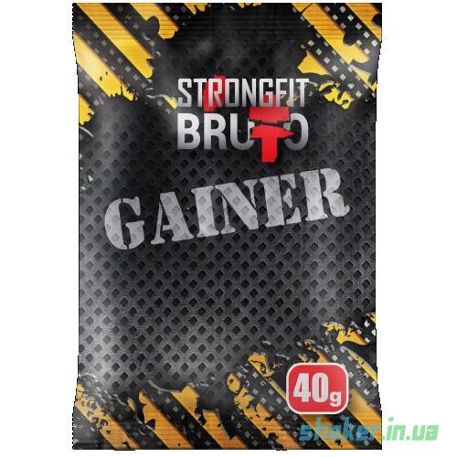 Гейнер для набора массы Strong FIT Gainer (40 г) стронг фит банан