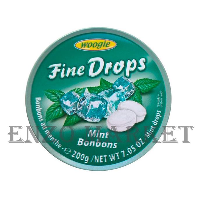 Леденцы Fine Drops, Мятные, 175 грамм