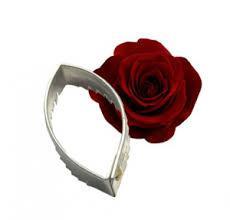 """Каттер под вайнер """"Лист розы"""" XL, 9.5x5.5 см Китай - 04463"""