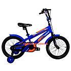 Детский велосипед Crosser JK 711 16 дюймов синий, фото 2