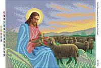 """Схема для вышивки бисером """"Иисус Пастырь"""""""