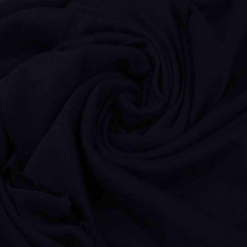 Трикотажное полотно Стрейч кулир, 30/1 Пенье, цвет - черный, в наличии, купить в Украине