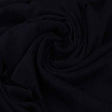 Трикотажное полотно Стрейч кулир, 30/1 Пенье, цвет - черный, в наличии, купить в Украине, фото 2
