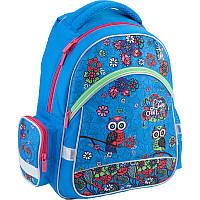Набор школьный ортопедический рюкзак kite k18-521s-1 pretty owls для младшей школы и пенал
