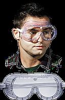 Противоосколочные защитные очки GOG-DOT T закрытые с прямой вентиляцией REIS Польша