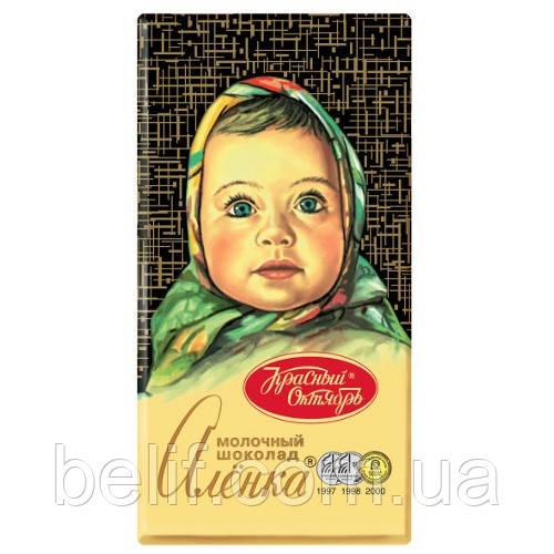Плитка шоколадная Аленка, 100 гр. (24 шт/уп)