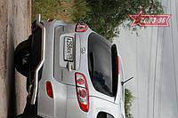 Защита заднего бампера волна d60 Союз 96 на Hyundai Santa Fe 2010-2011