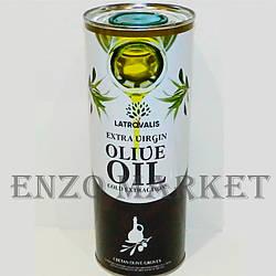 Оливковое масло Греция, Olive oil, 1 литр/жб