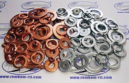Наборы медных колец топливной системы, алюминиевые кольца фланца Р-80