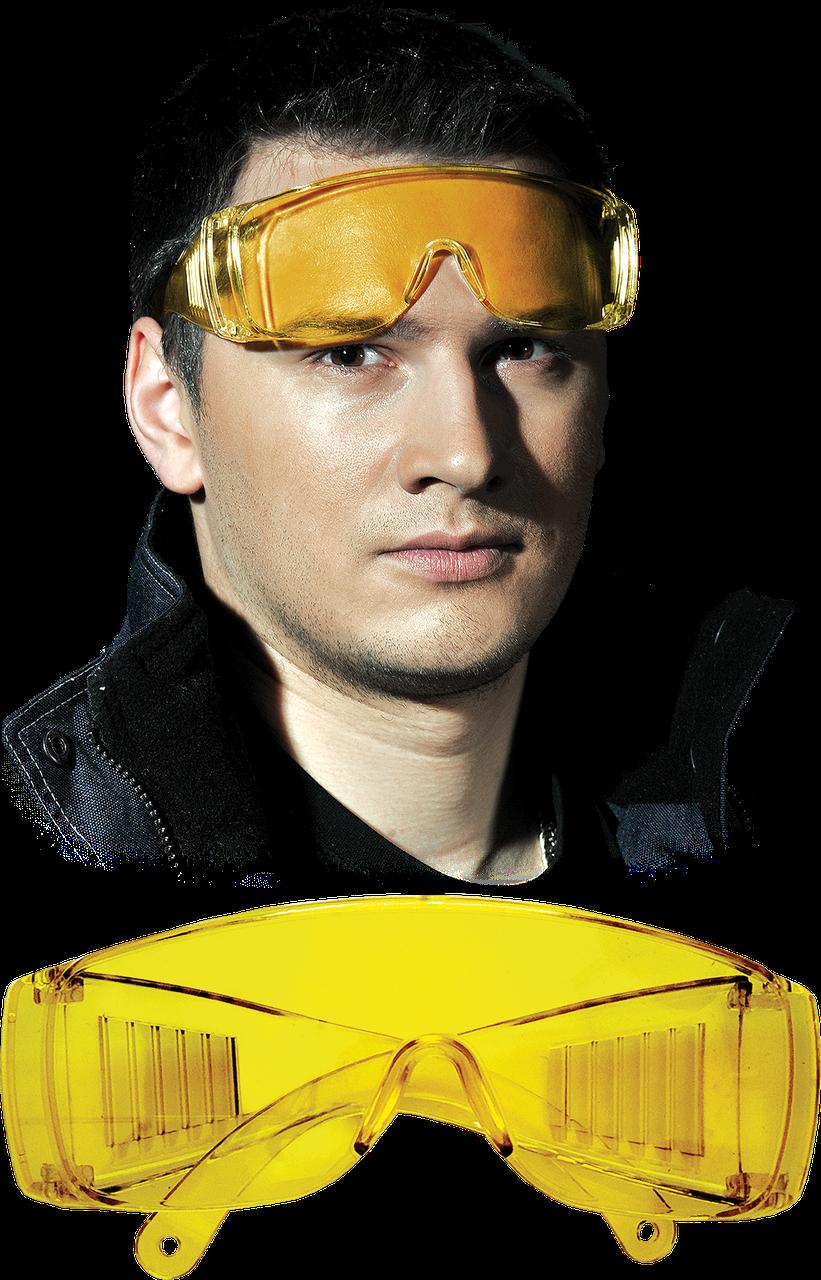 Очки защитные GOG-ICE-LIGHT Y с широкими дужками Reis Польша