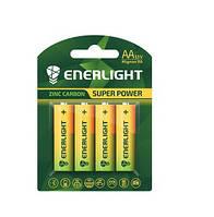Батарейка ENERLIGHT Super Power (AA ПАЛЬЧИК) (блистеры) 4 шт. / Ок 48 шт. / Уп 4823093502130