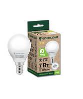 Лампа светодиодная ENERLIGHT P45 7Вт 4100K E14