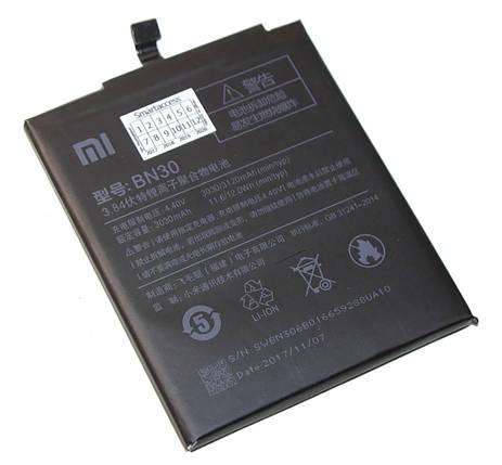 Аккумулятор Xiaomi BN30 (Redmi 4A), 3030mAh батарея Сяоми Ксиоми Редми 4А, фото 2