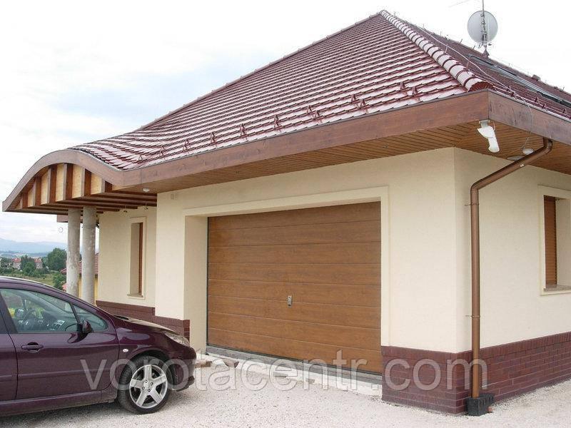 Автоматичні секційні гаражні ворота RSD02 ДОРХАН, DoorHan  2000 мм. висота