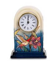 """Порцелянові настільні годинники """"Колібрі"""" (Pavone) JP-97/ 6"""