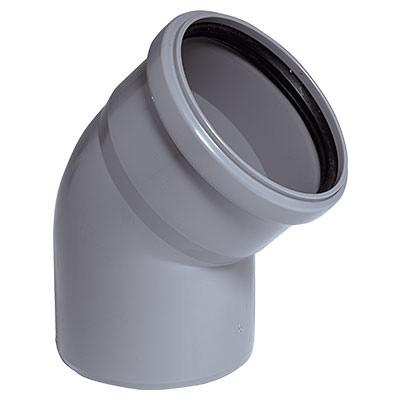 Колено 110 мм 45° VSplast
