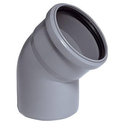 Колено 110 мм 45° VSplast, фото 2