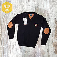 Оптом Пуловер вязаный для мальчиков 10-15 лет
