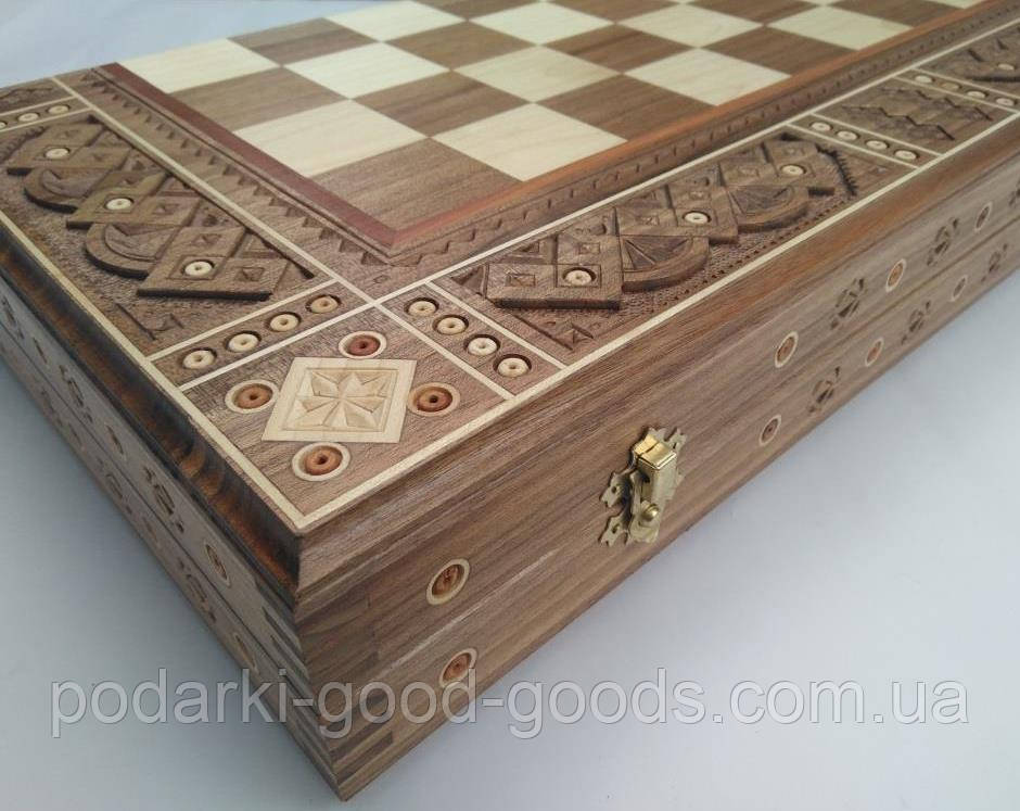 шахматы нарды деревянные ручной работы престиж цена 2 700 грн