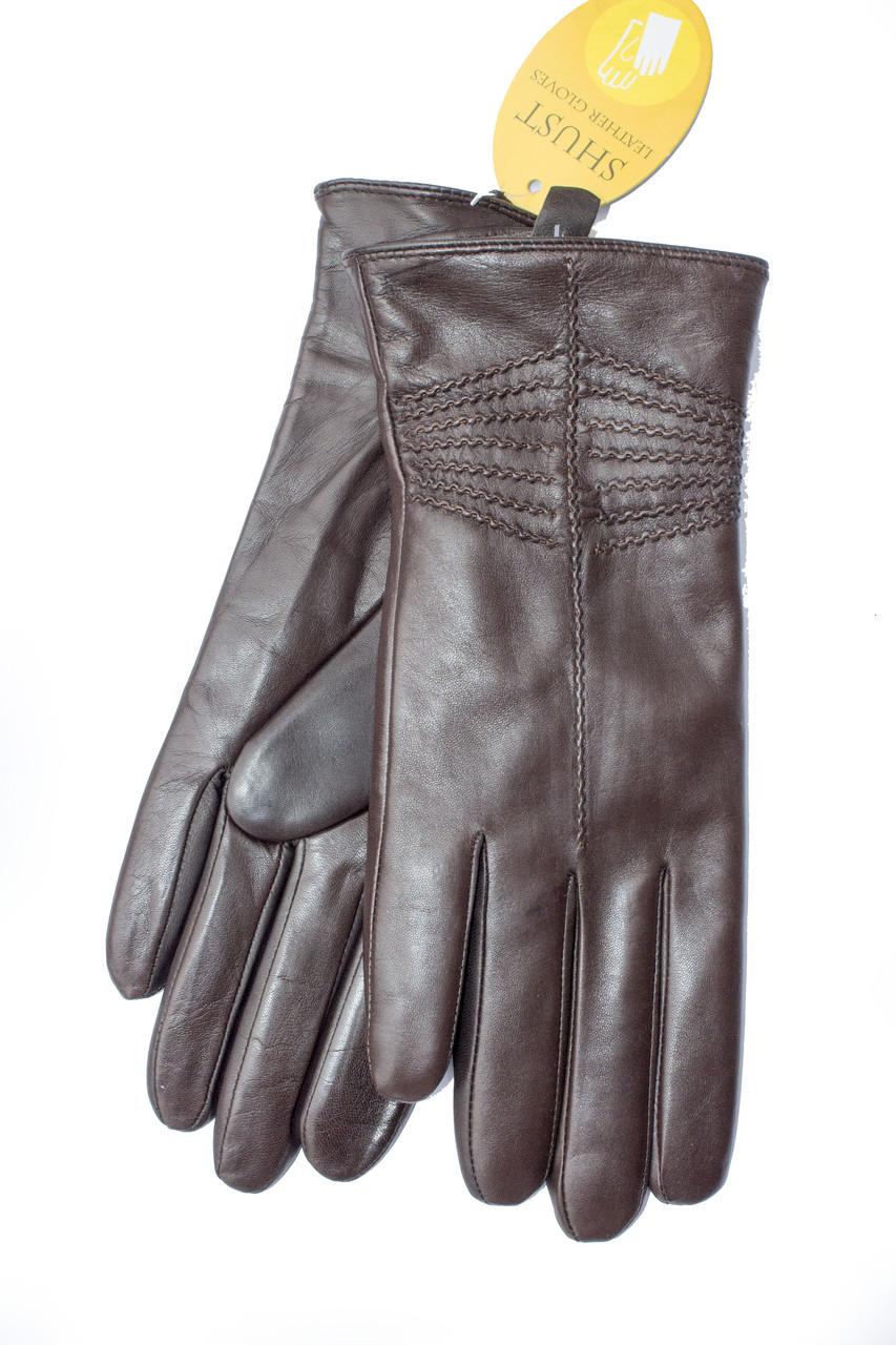 Женские кожаные перчатки 728