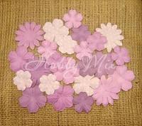 Набор цветов Dovecraft Paper Blossoms - Lilac