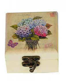 """Шкатулка для колец """"Flowers"""" (HL201)"""