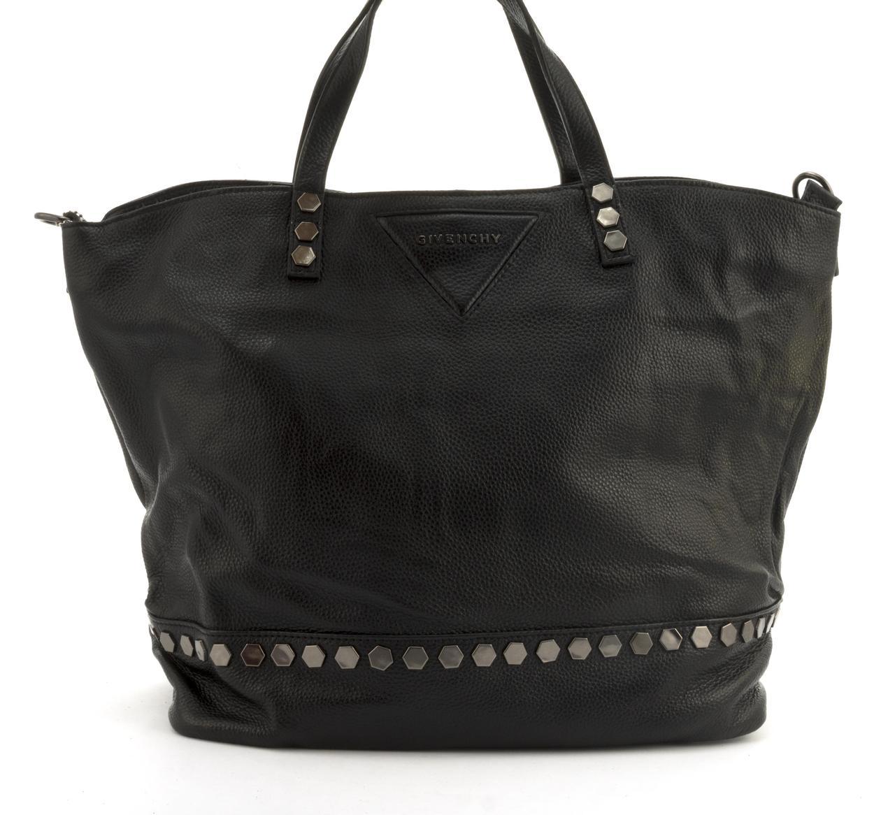 Вместительная стильная прочная кожаная качественная женская сумка GALANTY art. 83018-2 Турция черная