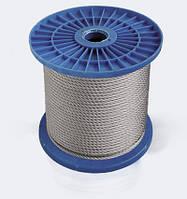 Трос стальной оцинкованный (1х19) ф1.5 мм