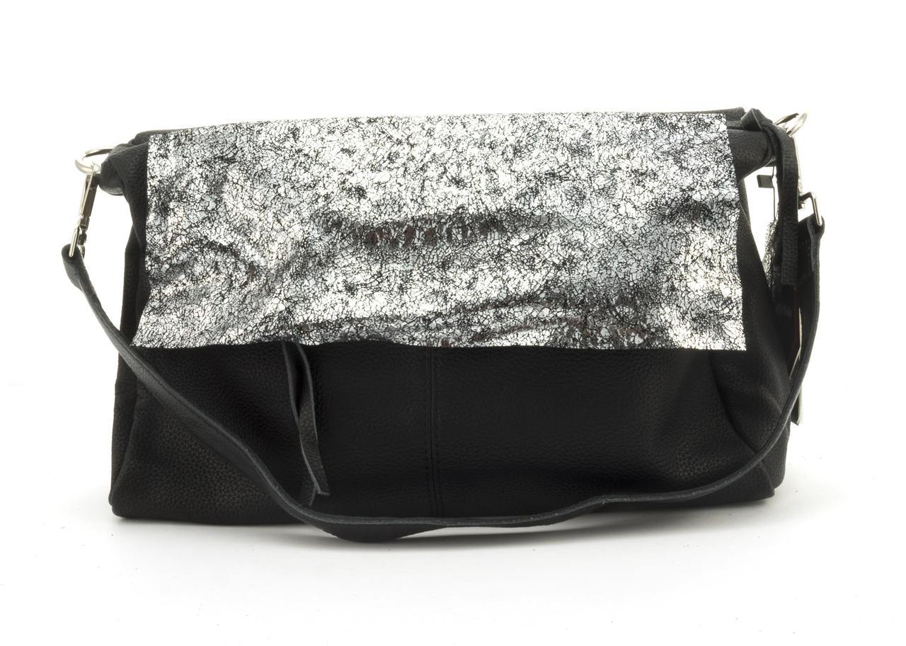 9ef77d05e5ab Вместительная стильная прочная кожаная женская мягкая сумка GALANTY art.  10513