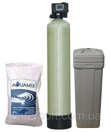 Фільтр знезалізнення і пом'якшення води RunXin RX 1054 Aqua Mix, фото 2