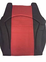 Накидка сидения черно-красная сетка XY-B006C, фото 1