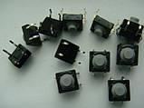 Микрокнопка тактовая DSG1046 8x8mm (резиновый толкатель) ALPS 5мм для грувбокса Roland, Pioneer cdj500, efx500, фото 2