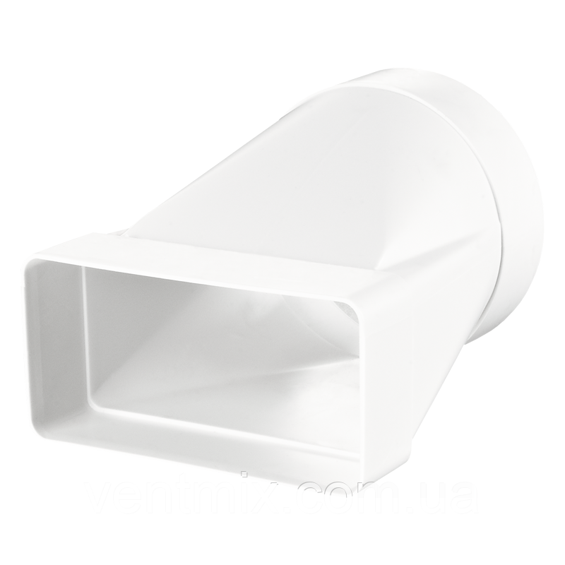 Соединитель 60х204 / d 125 мм для круглых и плоских каналов