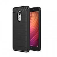 TPU чехол накладка для Xiaomi Redmi 5 Plus (Черный)