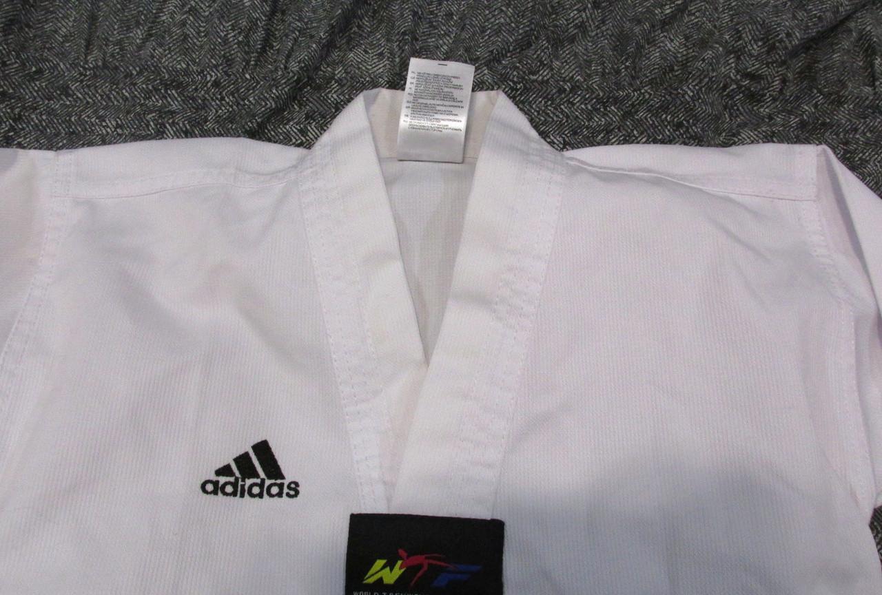 Кимоно добок, куртка Adidas, 110, Как Новое! 2
