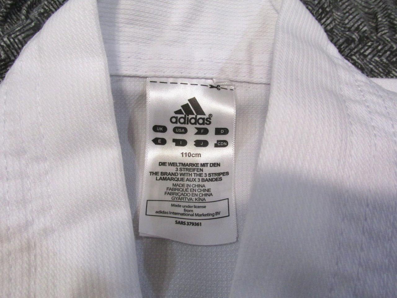 Кимоно добок, куртка Adidas, 110, Как Новое! 4