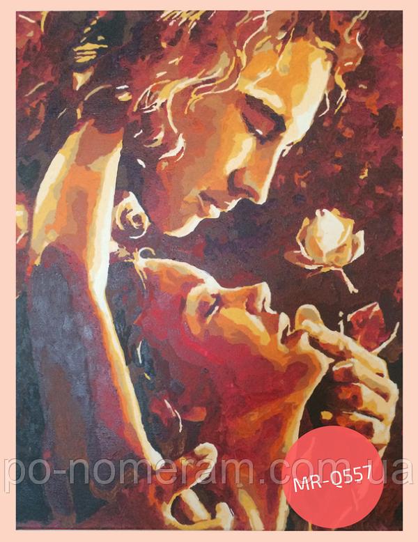 Раскраска по цифрам романтика