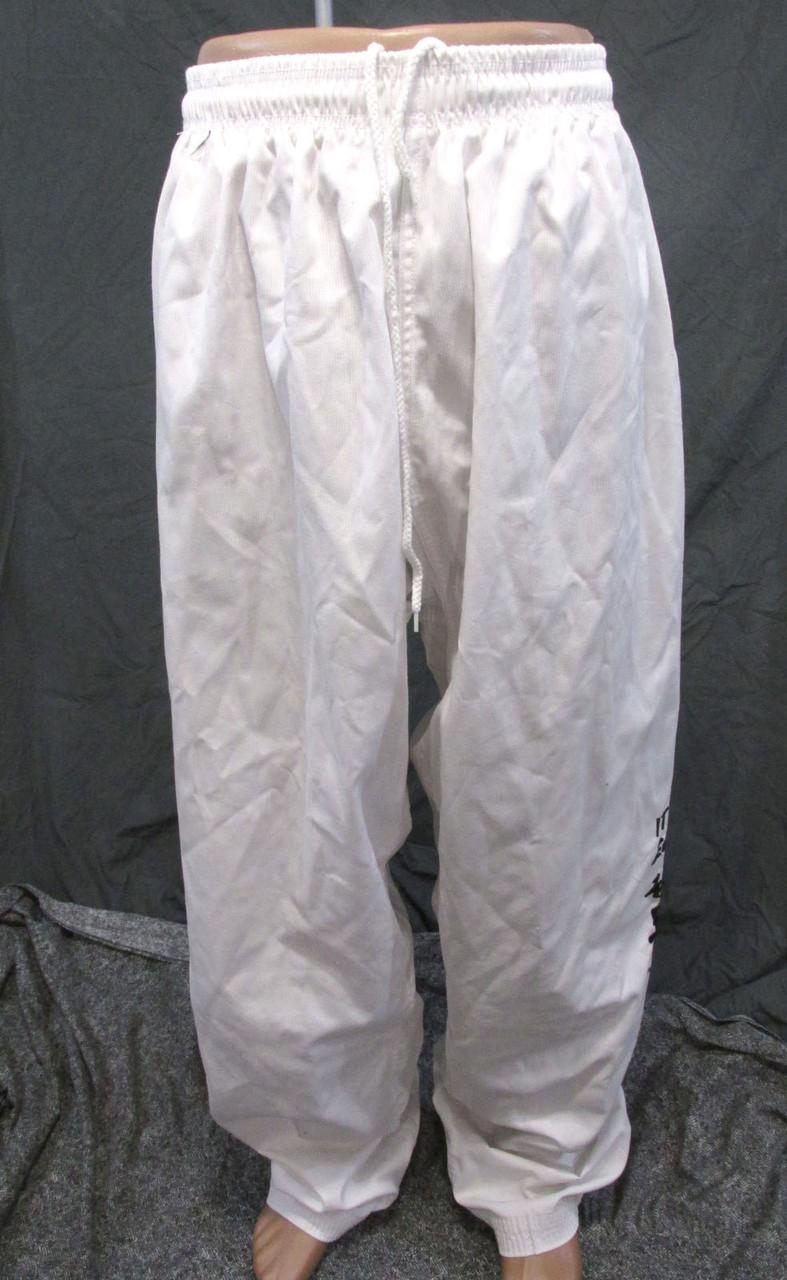 Штаны кимоно Kick Sport, 210, легкие, cotton-polyester, Отл сост!