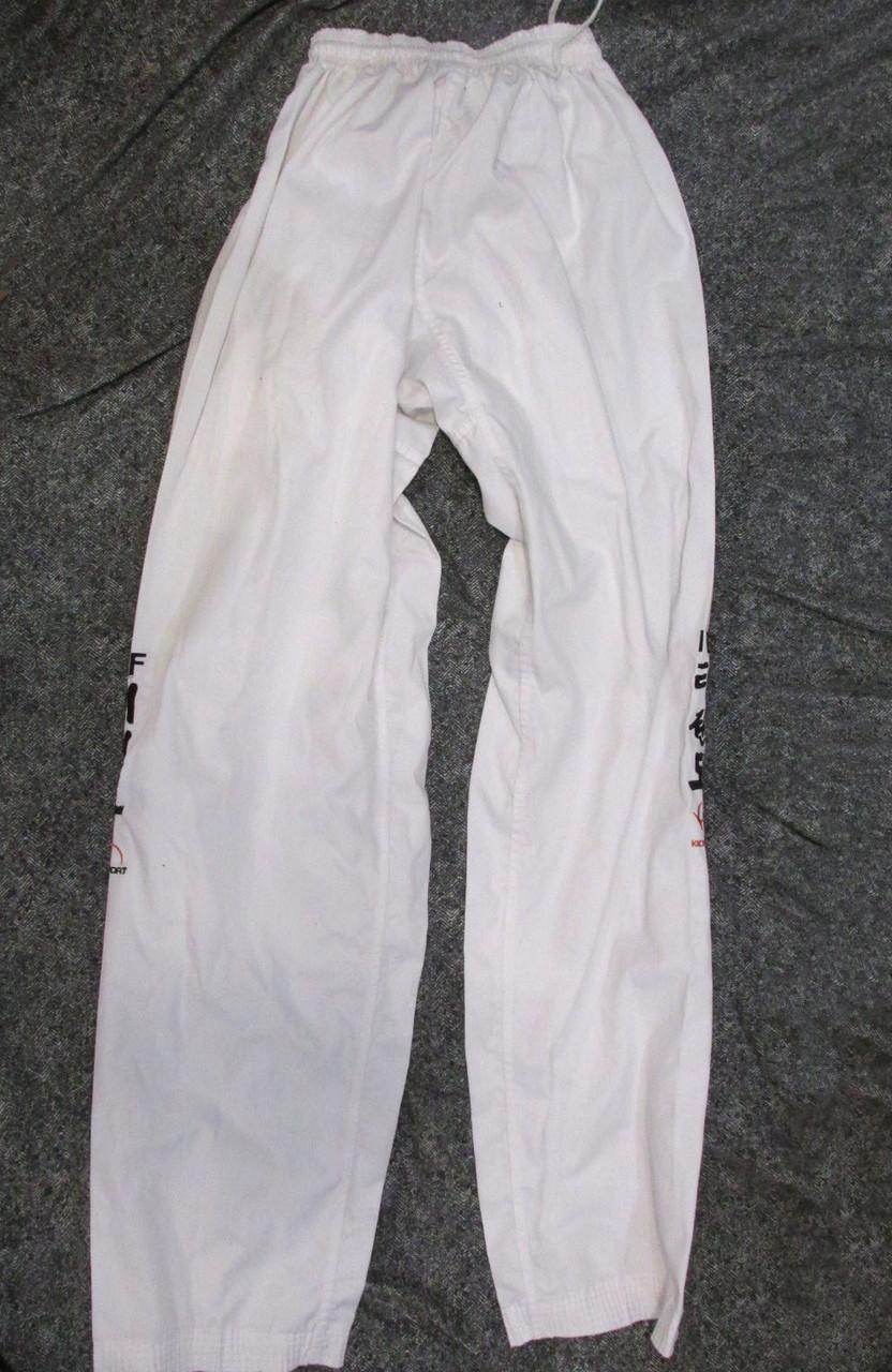 Штаны кимоно Kick Sport, 210, легкие, cotton-polyester, Отл сост! 8