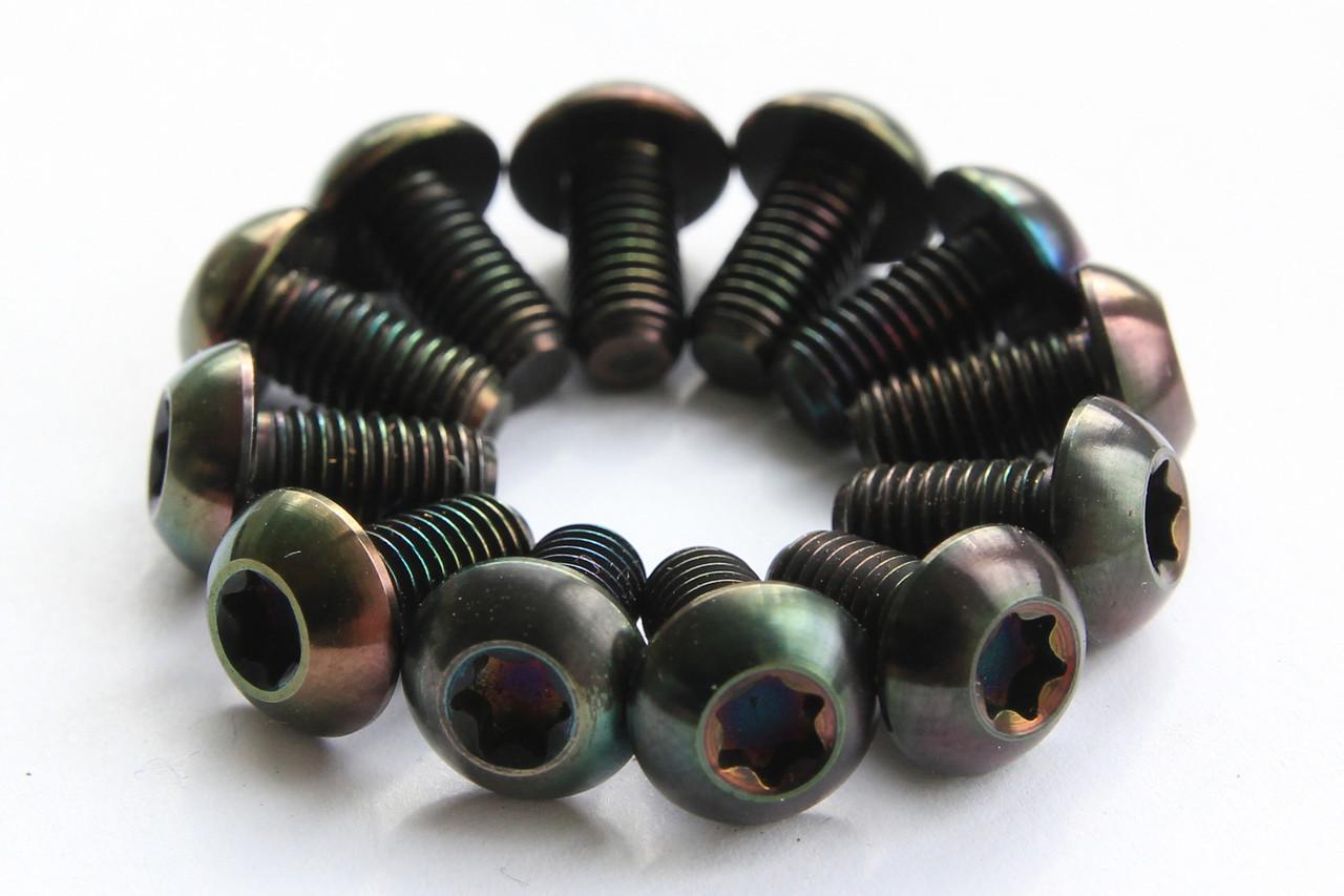 Болты Титановые для роторов, цветные